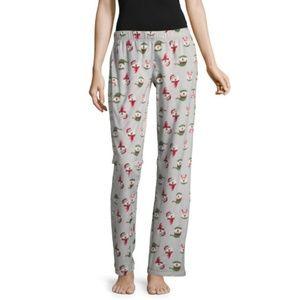 Flirtitude Fleece Pattern Pajama Pants - Juniors